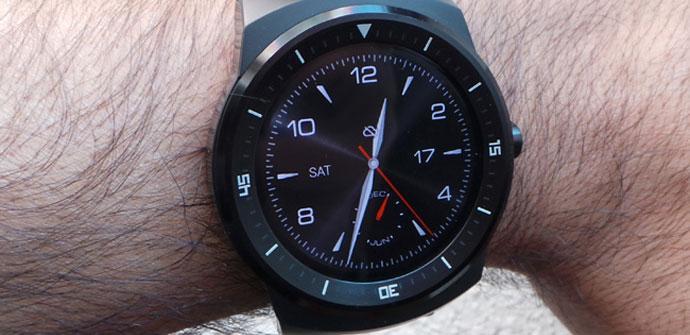Imagen de apertura del LG G Watch R