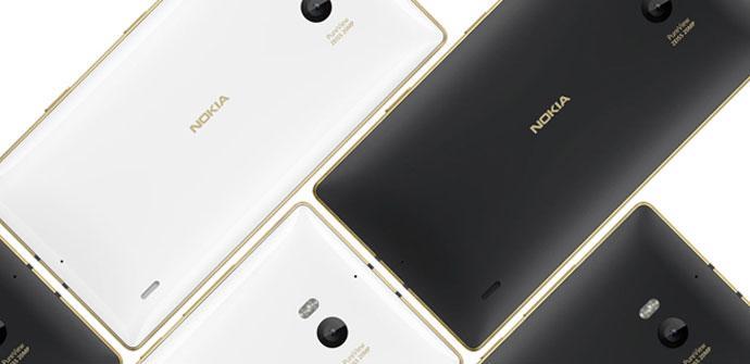 Nokia Lumia edicion oro