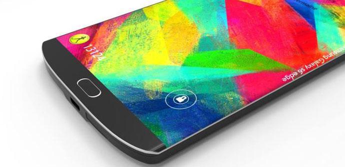Diseño conceptual del Samsung Galxay S6