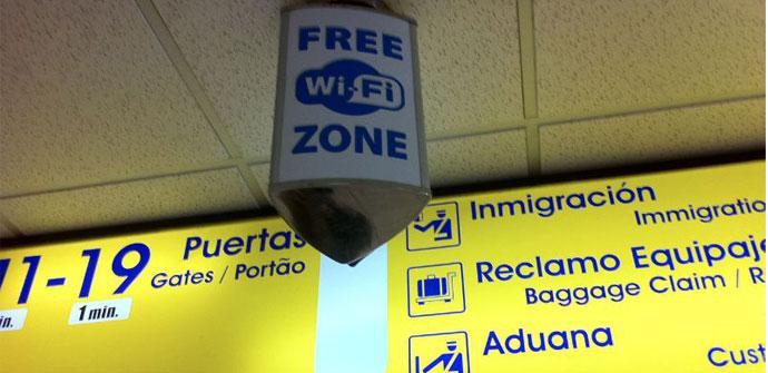WiFi gratis en aeropuertos