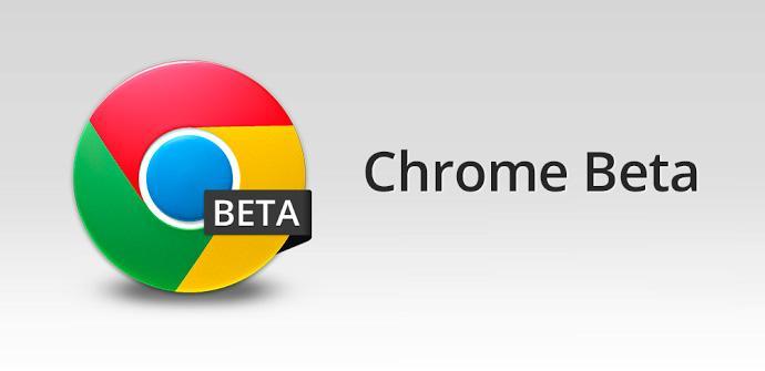 Beta 41 de Google Chrome para Android.