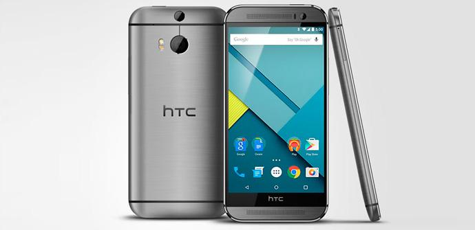 HTC One M8 Android 5.0 Lollipop