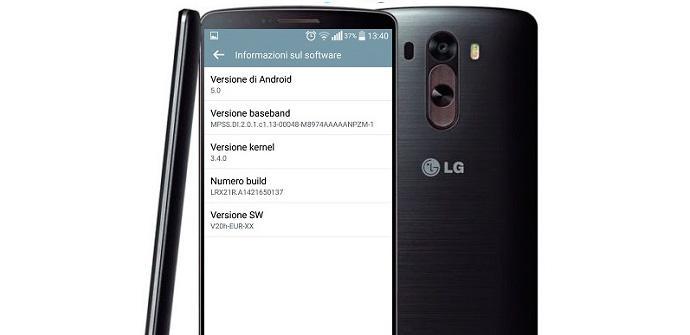 Android 5.0.1 Lollipop para los LG 3 europeos.