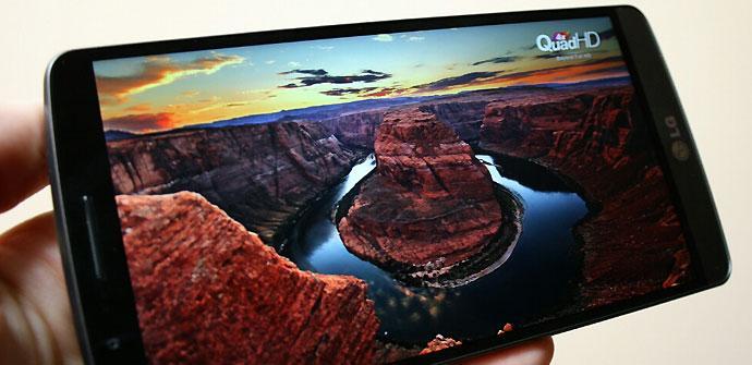 Display QHD del LG G3