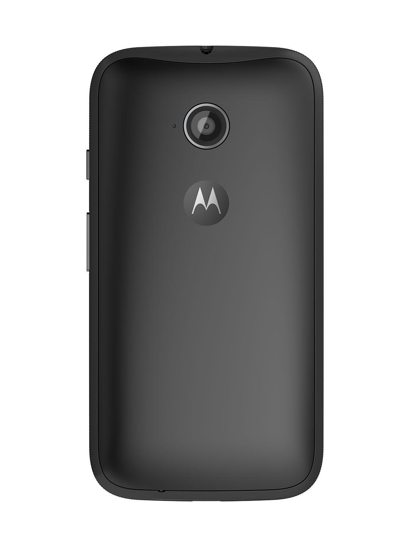 Motorola Moto E detalle de la parta trasera y de la cámara
