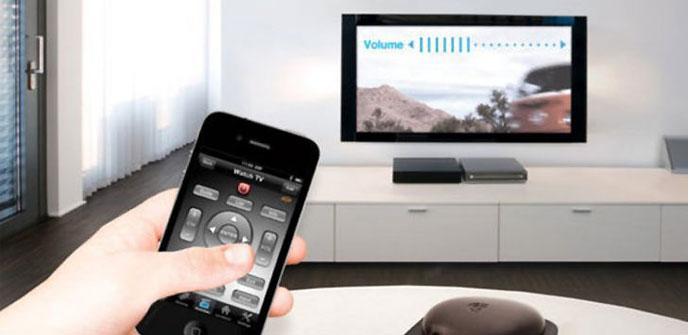 Mando a distancia en un smartphone