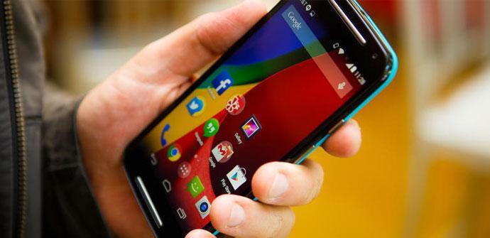 Motorola Moto G personalizado