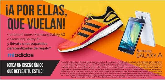 Promocion Samsung Galaxy A5 y Adidas