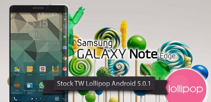 Samsung Galaxy Note Edge con Lollipop