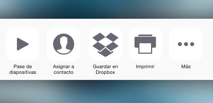 Dropbox se actualiza en iOS para compartir desde otras aplicaciones.