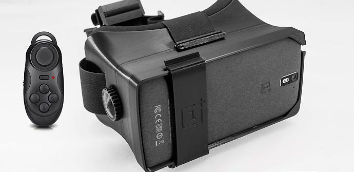 Gafas VR para el OnePlus One impresas en 3D.