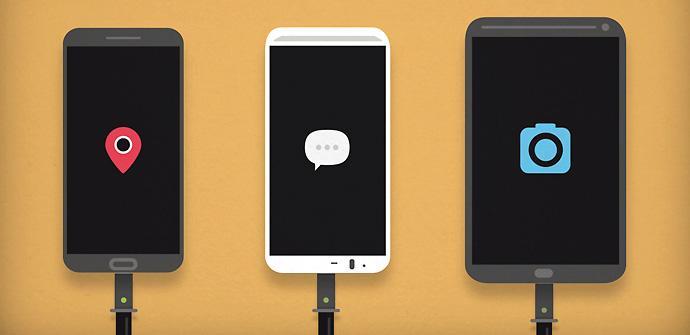 Juicer para cargar móviles con otros móviles.