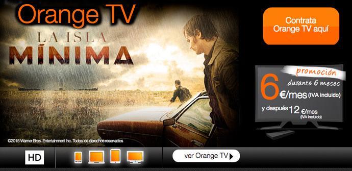 Orange TV para el móvil.