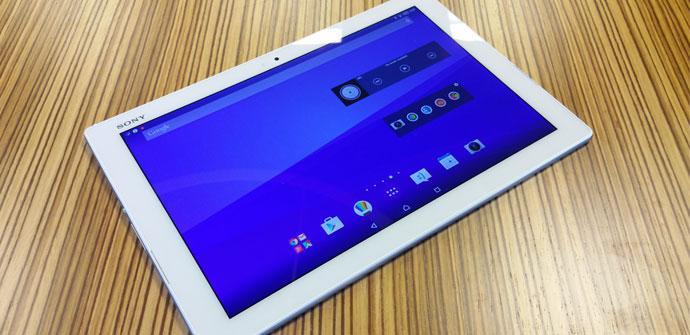 Sony Xperia Z4 Tablet presentacion