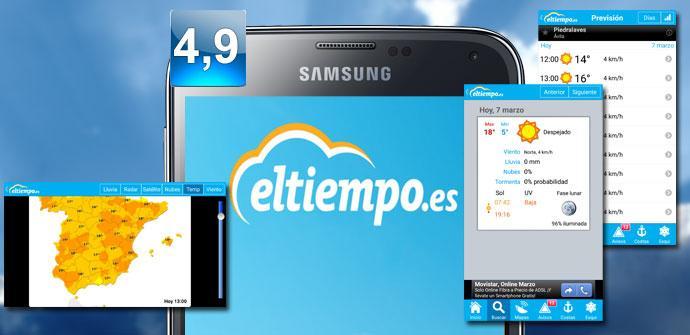 Imagen de la aplicación Eltiempo.es