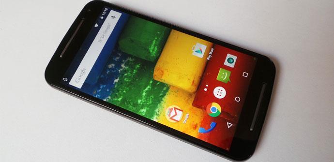 Teléfono Motorola Moto G 4G 2015