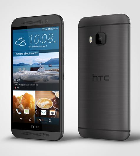 HTC One M9 en color negro