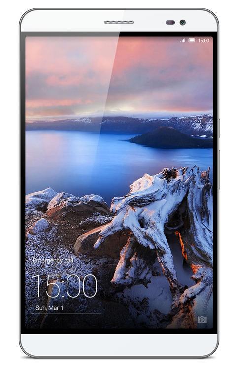 Huawei Mediapad X2 vista frontal