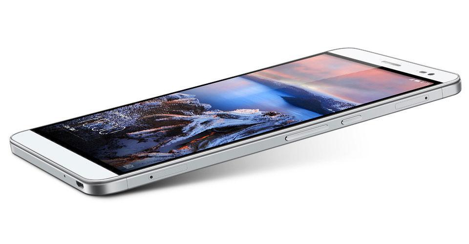 Huawei Mediapad X2 conexiones y botones externos