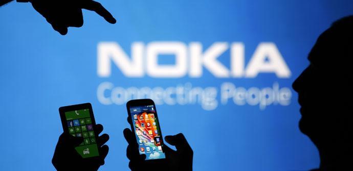 Foto de Nokia logo azul