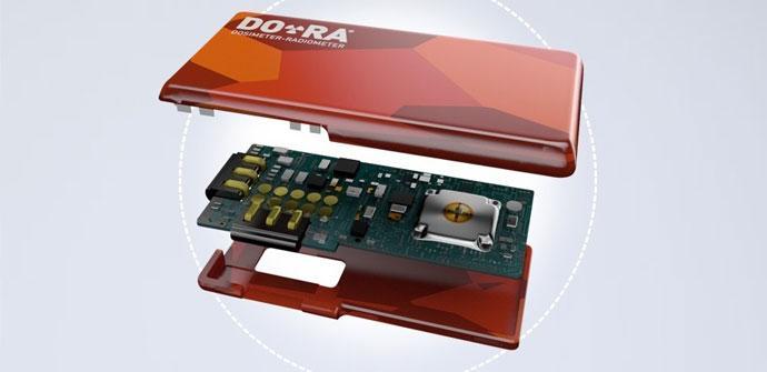 Sensor de radiacion Project Ara
