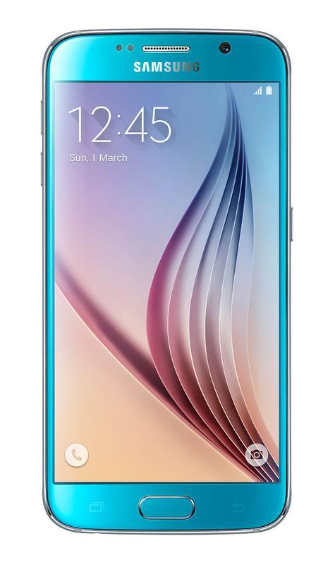 Samsung Galaxy S6 en color azul