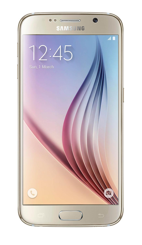 Samsung Galaxy S6 en color oro