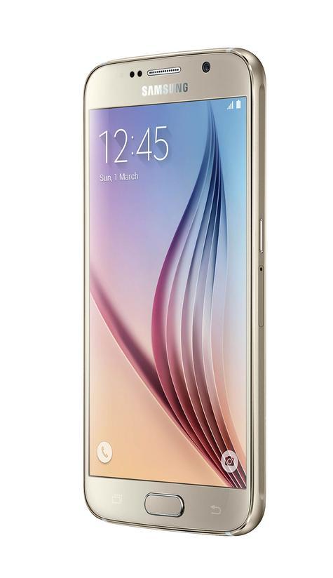 Samsung Galaxy S6 vista lateral