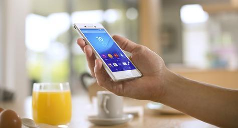 Sony Xperia M4 Aqua en color blanco