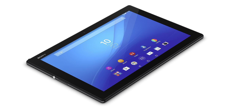 Sony Xperia Z4 Tablet en color negro