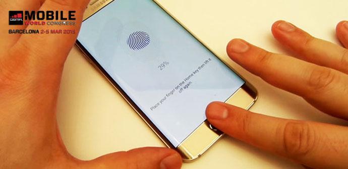 Lector de huellas del Samsung Galaxy S6