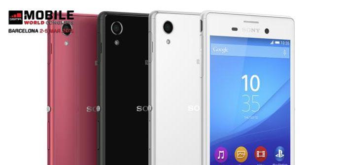 Presentación del Sony Xperia M4 Aqua