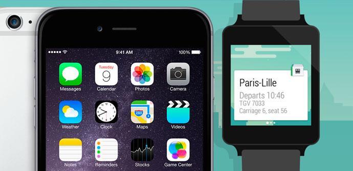 Android Wear llegará a iOS.