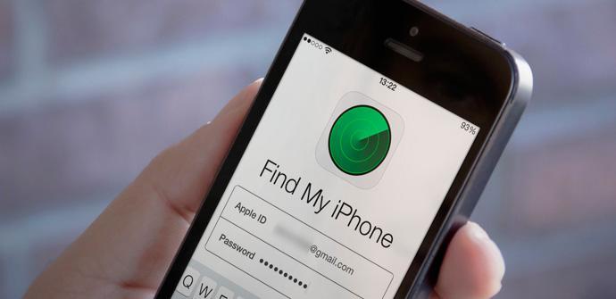 Buscar mi iPhone en tiempo real.