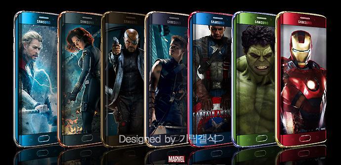 Samsung Galaxy S6 Edge Edición Limitada Los Vengadores.