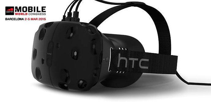 HTC Vive y Valve con la realidad virtual.
