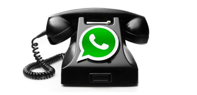 Llamadas VoIP de WhatsApp.