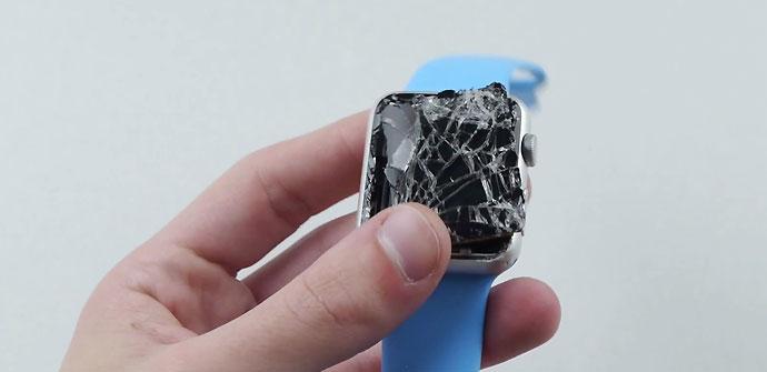 Pantalla rota del Apple Watch Sport