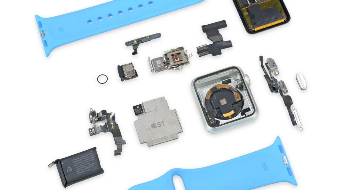 Componentes del Apple Watch
