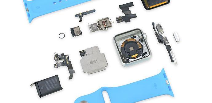 Desmontaje del Apple Watch