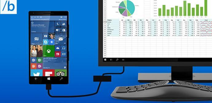 Smartphone con Windows 10