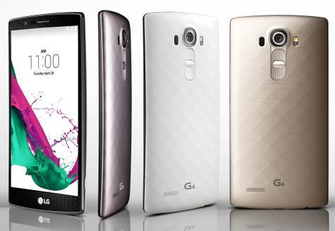 LG G4 en colores claros