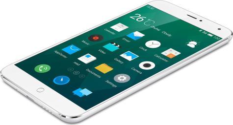 Meizu MX4 en color blanco
