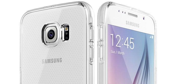 Funda transparente para el Samsung Galaxy S6