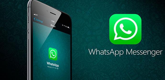 Llamadas de WhatsApp en app para iPhone
