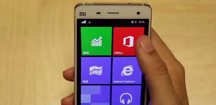 Prueba Windows 10 en Xiaomi Mi4