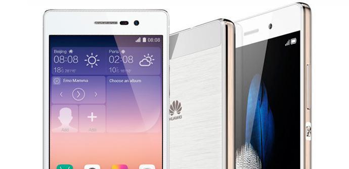 Comparativa Huawei P8 vs Ascend P7.