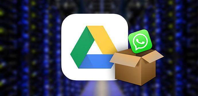 WhatsApp permite hacer backup en Google Drive.