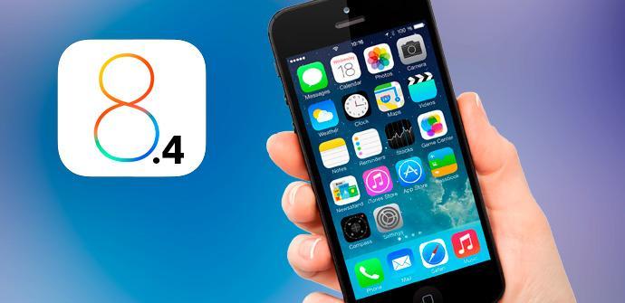 iOS 8.4 primera Beta pública.