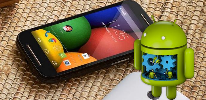 moto e android rom